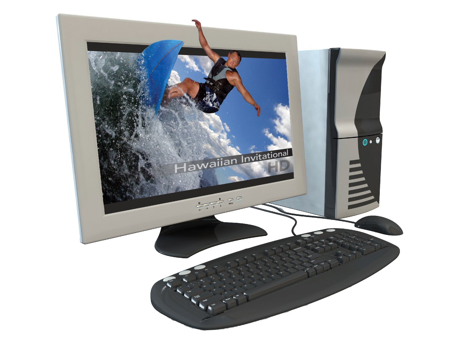 Desktop PC with PCTV HD Card