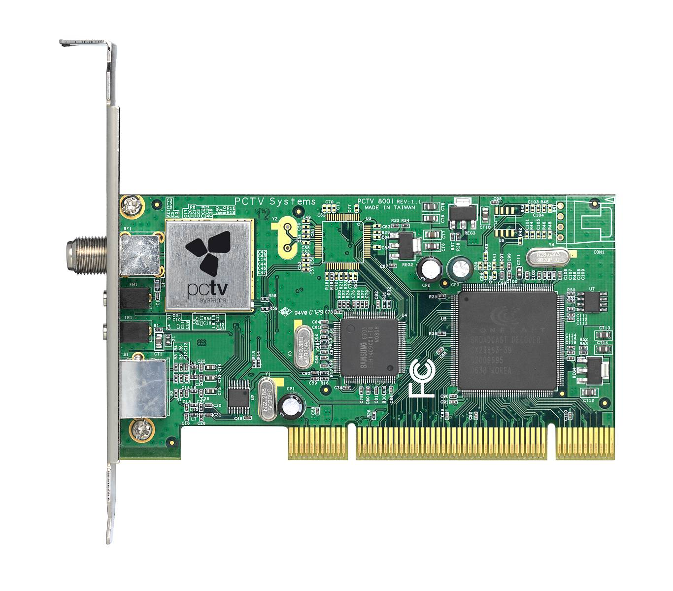 PCTV HD Card top view