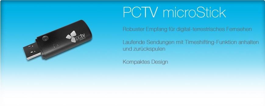 pctv microstick. Black Bedroom Furniture Sets. Home Design Ideas